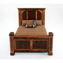 Glacier Bay - Deerbourne Panel Bed - Queen Bed (complete)