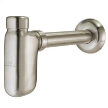 Decorative Bottle Trap - Satin Nickel