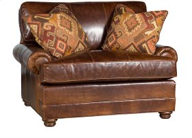 Highland Park Chair, Highland Park Leather Chair, Highland Park Leather Ottoman