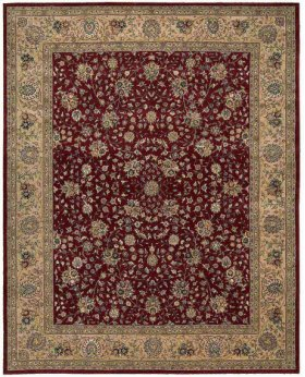 Nourison 2000 2107 Bur Rectangle Rug 5'6'' X 8'6''