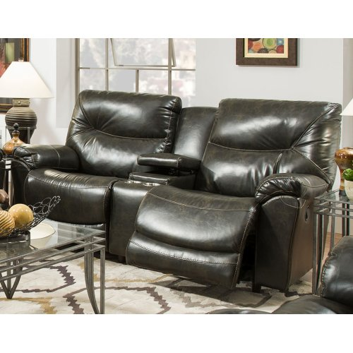 Reclining Sofa w/Table