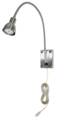 3W GU10 LED WALL LAMP WITH GOOSENECK ARM