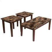 Signature Design by Ashley Theo 3 Piece Occasional Table Set [FSD-TS3-20MB-GG] Product Image