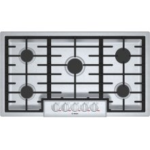 Benchmark® Gas Cooktop 36'' Stainless steel NGMP656UC