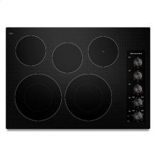 Black KitchenAid® 30-Inch 5 Element Electric Cooktop, Architect® Series II