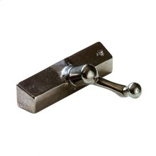 Casement Window Crank & Cover - WC100 Silicon Bronze Brushed