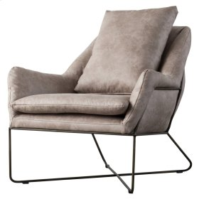 Sydney PU Arm Chair, Devore Gray