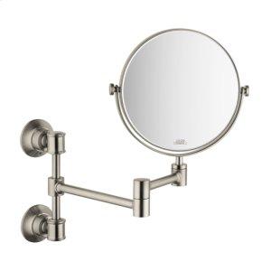Brushed Nickel Shaving Mirror Product Image