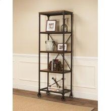CR-W3075  4 Shelf Bookcase
