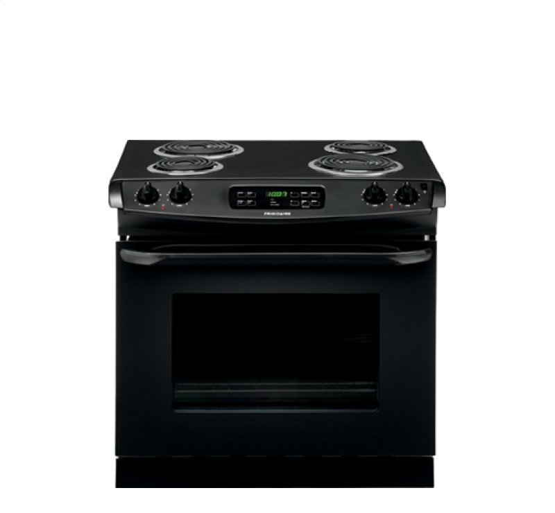 Drop In Cooktops Electric ~ Ffed pb in black by frigidaire tampa fl