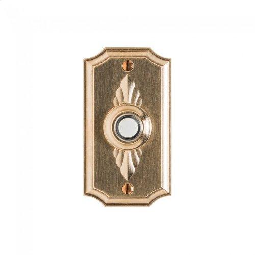 Bordeaux Doorbell Button White Bronze Dark