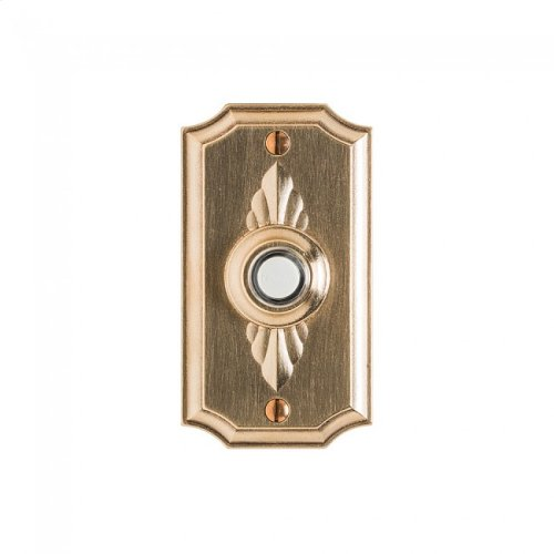 Bordeaux Doorbell Button White Bronze Medium