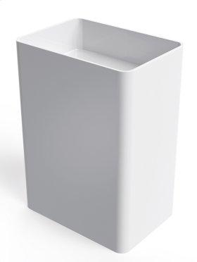 Everest free-standing rectangular basin