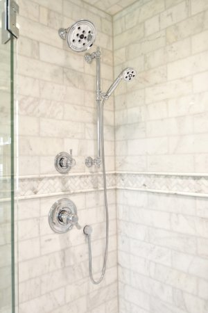 """7 3/16"""" Shower Arm and Flange"""