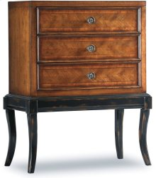 Wingate Three-Drawer Leg Chest