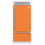 "Hestan36"" Pro Style Bottom Mount, Top Compressor Refrigerator - KRP Series - Citra"