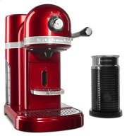 Nespresso® Espresso Maker by KitchenAid® with Milk Frother - Candy Apple Red Product Image