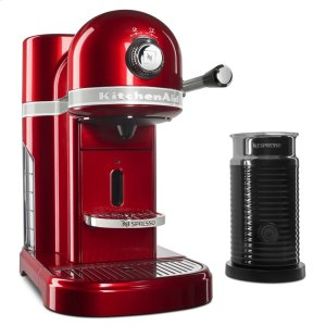 KitchenaidNespresso® Espresso Maker by KitchenAid® with Milk Frother - Candy Apple Red