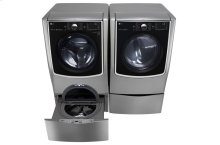 6.2 Total Capacity LG TWINWash Bundle with LG SideKick and Electric Dryer