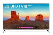"UK6500AUA 4K HDR Smart LED UHD TV w/ AI ThinQ® - 50"" Class (49.5"" Diag) Product Image"