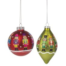Nutcracker Ornament. (6 pc. ppk.)