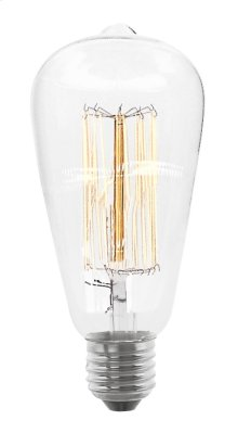 60W Incandescent MB ST64 120V Bulb Clear