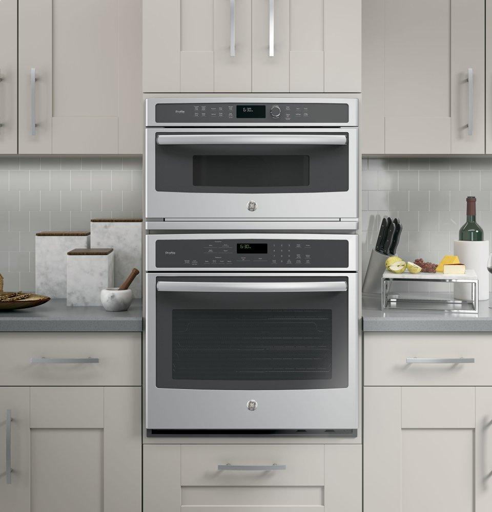 Ge Profile Series Built In Microwave Convection Oven