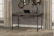 Casselberry Desk/table - Distressed Walnut / Brown Metal