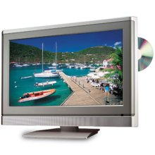 """20"""" Diagonal LCD HD Monitor Television with Built-in DVD Player"""
