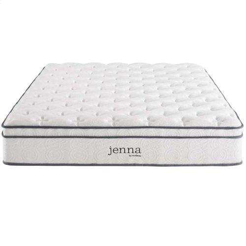 """Jenna 10"""" Queen Pillow Top Innerspring Mattress"""