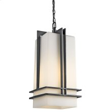 Tremillo Collection Outdoor Hanging Pendant 1Lt BK