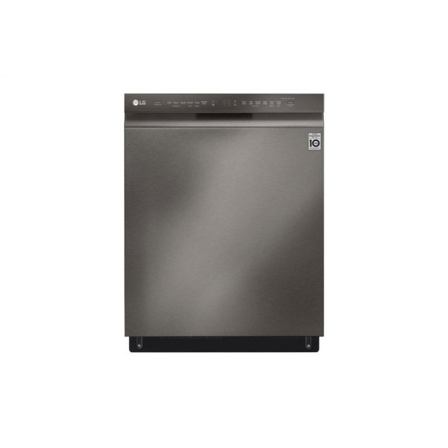 LG Appliances Front Control Smart wi-fi Enabled Dishwasher with QuadWash™