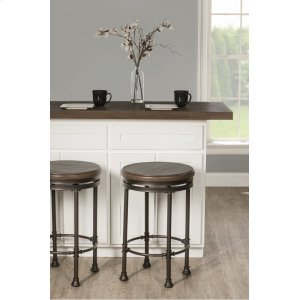 Hillsdale FurnitureCasselberry Backless Round Swivel Counter Stool
