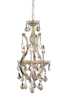 2800 Maria Theresa Collection Hanging Fixture Golden Teak Finish