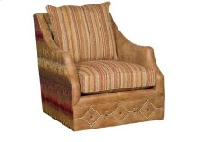 Shannon Swivel Chair Leather/Fabric
