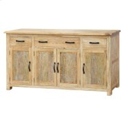 Dallas Sideboard 4 Drawers + 4 Doors, Rustic Indigo Product Image