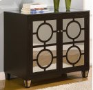 Circles Black 2-Drawer Cabinet Product Image