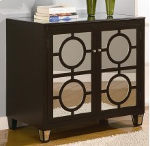 Circles Black 2-Drawer Cabinet