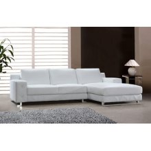 Divani Casa Delta - Modern Leather Sectional Sofa