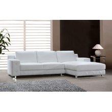 Divani Casa Delta - Modern Leather Sectional Sofa