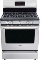 "30"" DLX Gas Freestanding Range 500 Series - Stainless Steel HGS5L53UC Product Image"
