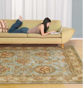 Jaipur Ja19 Aqu Rectangle Rug 8'3'' X 11'6''