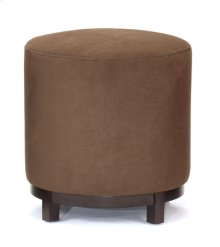 Chocolate Round Foot Stool