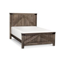 Montauk 2-Panel Bed, Montauk 2-Panel Bed, California King