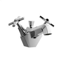 Waldorf Crosshead Single-Hole Lavatory Faucet - Polished Chrome
