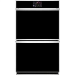 "MonogramMonogram 30"" Smart Electric Convection Double Wall Oven Minimalist Collection"