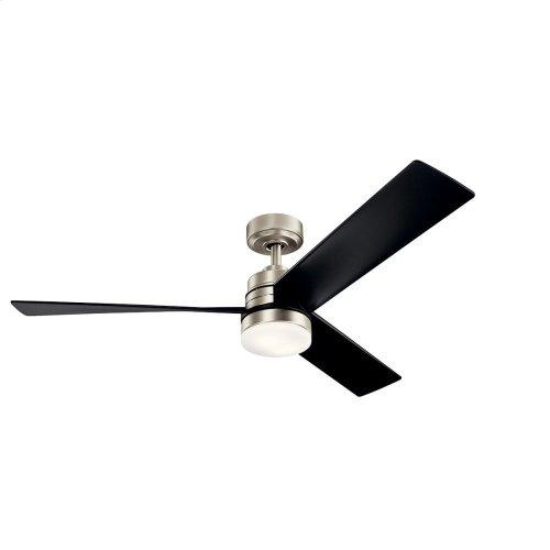 """Spyn LED 52"""" Fan Brushed Nickel"""