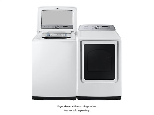 DV5400 7.4 cu. ft. Electric Dryer with Steam Sanitize+ in White