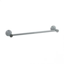 """Brookhaven - Towel Bar With Crown Posts 24"""" - Polished Chrome"""