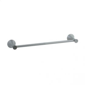"""Brookhaven - Towel Bar With Crown Posts 24"""" - Brushed Nickel"""